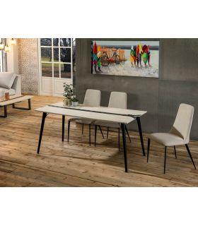 Mesa de Salón Comedor de estética Industrial ZIGZAG