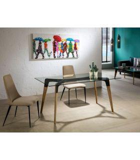 Comprar online Mesa de salón comedor de estética Industrial MANHATTAN