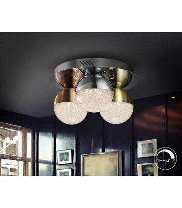 Plafón de Techo con luz LED Colección SPHERE Colores