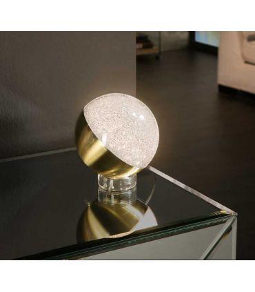 Lámpara de Sobremesa esférica Colección SPHERE Latón GR