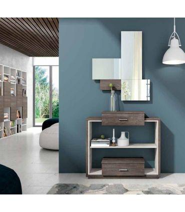 Mueble de Recibidor en Madera modelo CANTABRIA