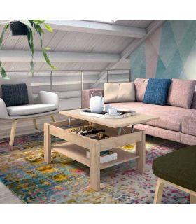 Comprar online Mesa de centro elevable realizada en madera ALPES