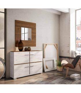 Comprar online Espejo Cuadrado de madera ESTORIL