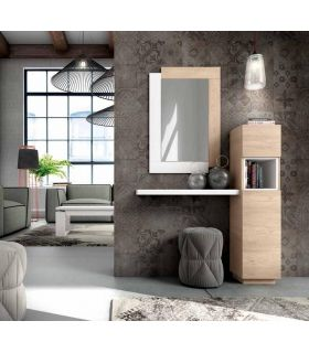 Comprar online Mueble de recibidor vertical con estante modelo TORRE