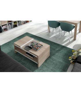 Comprar online Mesa de centro Fija con cristal modelo MILAN