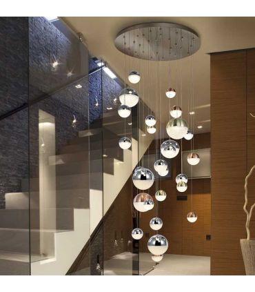 Lámpara SPHERE de Gran formato 27 Luces