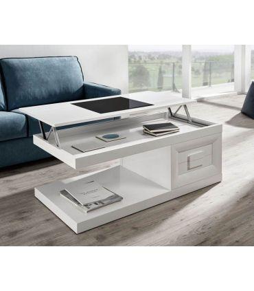 Mesa de centro rectangular Elevable modelo SALAMANCA