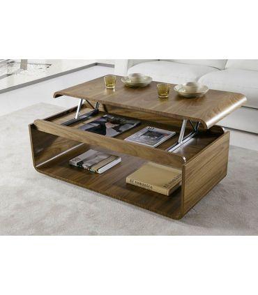 Mesa de centro moderna Elevable modelo YECLA