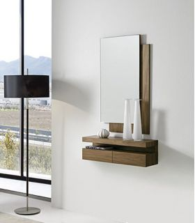 Comprar online Espejo de diseño moderno realizado en madera HALL