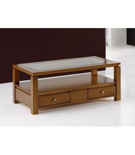 Comprar online Mesa de centro fija realizada en madera BRUCO rectangular