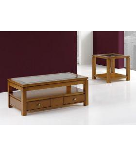 Comprar online Mesa de centro elevable realizada en madera BRUCO rectangular