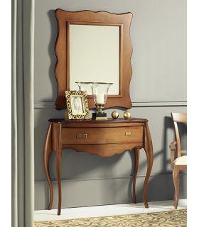 Comprar online Espejo Clásico en madera de Haya ZANTE