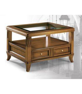 Comprar online Mesa de centro de estilo clásico BEND cuadrada