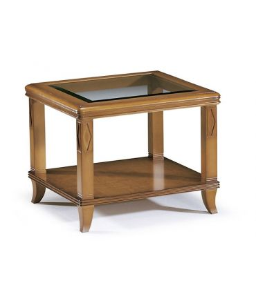 Mesa de rincón de estilo clásico en madera de haya BEND