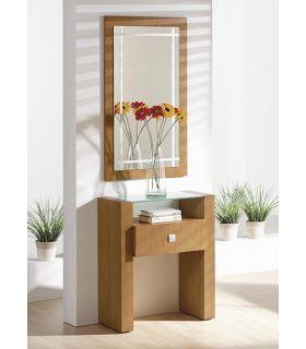 Comprar online Espejo rectangular con luna serigrafiada CAPRICCIO