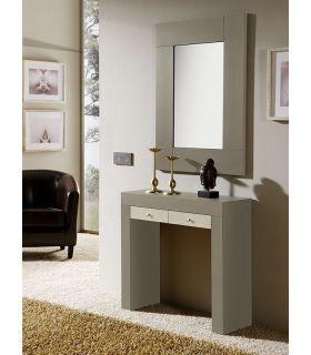 Comprar online Espejo rectangular chapado en madera modelo SUITE