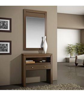 Comprar online Consola en chapa de madera de Cerezo modelo CAPITAL