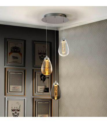 Lámpara de techo luz led colección TACCIA 3 Schuller