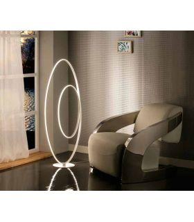 Comprar online Lámpara Pie de Salón Diseño con Luz Led mod. LOOP Schuller