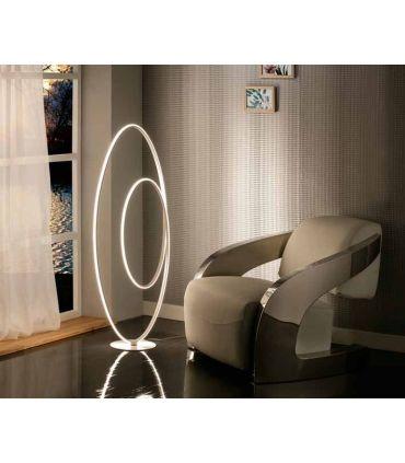 Lámpara Pie de Salón Diseño con Luz Led mod. Loop Schuller