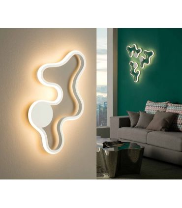 Aplique Plafón de Diseño con Luz Led modelo Marea Schuller