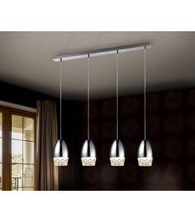 Comprar online Lámpara de Techo Luz Led colección ALESSA 4 Cromo Schuller