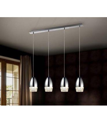 Lámpara de Techo Luz Led colección Alessa 4 Cromo Schuller