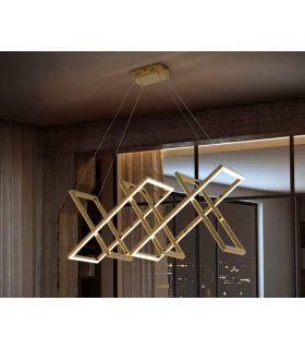 Comprar online Lámpara Moderna de acero pulido colección LIMUS Oro Schuller