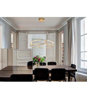 Comprar online Lámpara de Diseño Luz Led colección COLETTE Oro Schuller