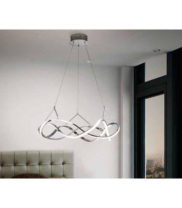 Lámpara Moderna de Techo colección MOLLY Cromo Schuller