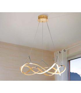 Comprar online Lámpara Moderna de Techo Luz Led colección MOLLY Oro Schuller