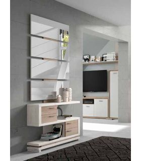 Comprar online Mueble de Recibidor en madera Modelo MALLORCA Natural