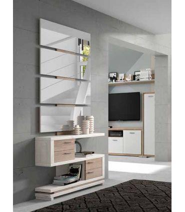 Mueble de Recibidor en madera Modelo MALLORCA Natural