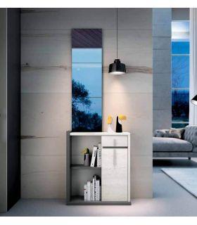 Comprar online Mueble de Recibidor de estilo Nórdico MALMO Antracita
