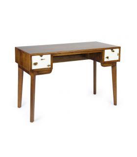 Comprar online Escritorio de madera natural de Mindi Colección NORDIC