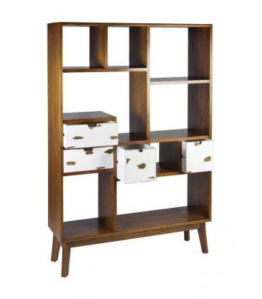 Estantería Librería en madera de Mindi Colección NORDIC