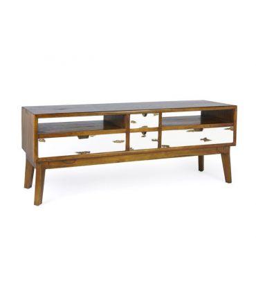 Mueble de Televisión en madera de Mindi Colección NORDIC