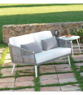 Sofá de 2 plazas para terraza y jardín Colección SIENA
