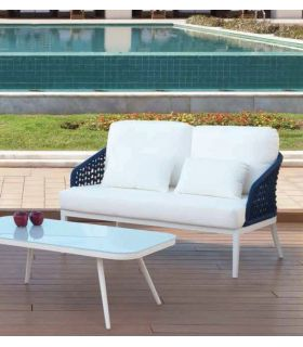 Comprar online Sofá de 2 plazas para Decoración de Exterior SAN MARINO