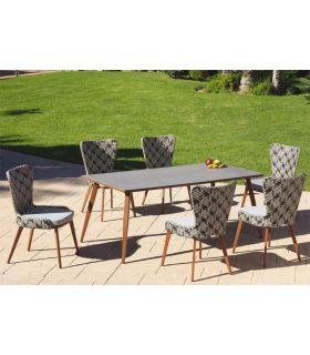 Comprar online Mesa de Terraza y Jardín con tapa en Porcelánico Colección FLORENCIA