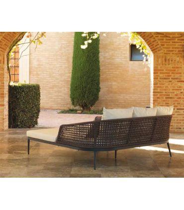 Sofá Daybed para terreza y Jardín Colección ROMA