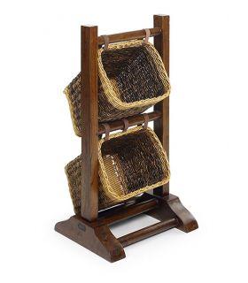 Comprar online Muebles de Madera con Cestos de Rattan : Modelo COFÍN