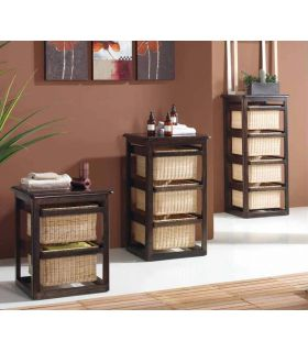 Comprar online Muebles con Cestos : Modelo LAUNDRY wengue