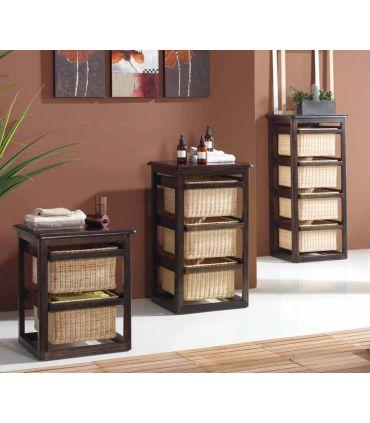 Muebles con Cestos : Modelo LAUNDRY wengue