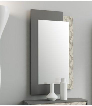 Espejo con marco de madera modelo DESIGUAL ONDAS