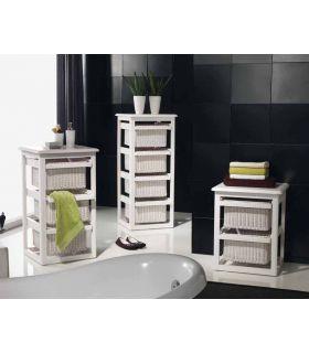 Comprar online Muebles con Cestos : Modelo LAUNDRY blanco