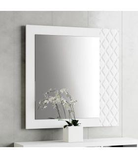 Comprar online Espejo decorativo de madera modelo PRISMA Rombos