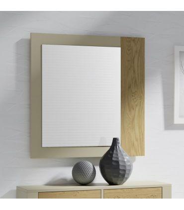 Espejo decorativo de madera modelo PRISMA Liso