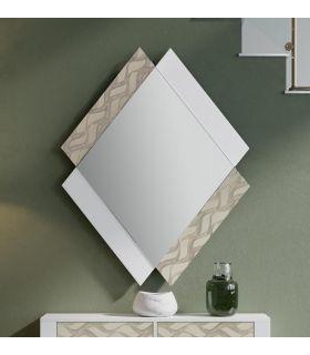 Comprar online Espejo de Diseño en madera Modelo QUATRO ONDAS