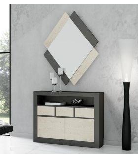 Comprar online Mueble de entrada y recibidor SARA Grande LISO madera